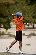 Abu Dhabi, United Arab Emirates (UAE). .March 20th 2009..Al Ghazal Golf Club..36th Abu Dhabi Men's Open Championship..Simon Dunn