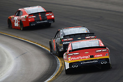 March 10, 2018 - Avondale, Arizona, United States of America - March 10, 2018 - Avondale, Arizona, USA: Michael Annett (5) brings his car through the turns during the DC Solar 200 at ISM Raceway in Avondale, Arizona. (Credit Image: © Chris Owens Asp Inc/ASP via ZUMA Wire)