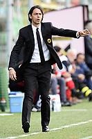 Filippo Inzaghi Milan <br /> Palermo 04-04-2015 Stadio Renzo Barbera Football Calcio Serie A 2014/2015 Palermo - Milan foto Daniele Buffa / Image Sport / Insidefoto