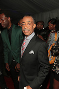 """September 18, 2012- Harlem, New York: Rev. Al Sharpton attends Sylvia's Restaurant 50th Anniversary Golden Jubliee Gala celebrating the life and legacy of the late Sylvia Woods and held at Sylvia's Restaurant on September 18, 2012 in the Village of Harlem, USA. The 50th Anniversary Gala salutes Sylvia's as """"the world's kitchen"""" and celebrates a legend of the historic Harlem community. With an invite-only fundraising event for 500+ guests, the night kicked-off with a lavish cocktail hour and live performances from Sylvia's A-list guests, many of whom have made Sylvia's a home away from home for the past 5 decades. (Terrence Jennings)"""