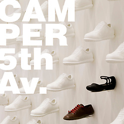 Camper Store. 5th Av. New York. Nendo