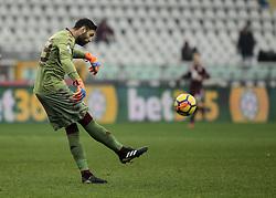 January 6, 2018 - Turin, Italy - Salvatore Sirigu during Serie A match between Torino v Bologna, in Turin, on January 6, 2018  (Credit Image: © Loris Roselli/NurPhoto via ZUMA Press)