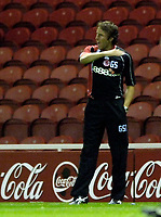 Photo: Jed Wee.<br /> Middlesbrough v Notts County. Carling Cup. 20/09/2006.<br /> <br /> Middlesbrough manager Gareth Southgate shouts at his players.