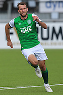 during the Betfred Scottish League Cup match between Cove Rangers and Hibernian at Balmoral Stadium, Aberdeen, Scotland on 10 October 2020.