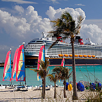 Caribbean, Bahamas, Castaway Cay. Disney Fantasy and sailing rentals at Castaway Cay.