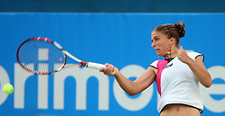 Sara Errani of Italy at 2nd Round of Banka Koper Slovenia Open 2008, on July 22, 2008, Portoroz - Portorose, Slovenia. (Photo by Vid Ponikvar / Sportal Images)...