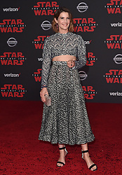 "©AXELLE/BAUER-GRIFFIN.COM World Premiere of ""Star Wars: The Last Jedi"". Shrine Auditorium, Los Angeles, CA. EVENT December 9, 2017. 09 Dec 2017 Pictured: Cobie Smulders. Photo credit: AXELLE/BAUER-GRIFFIN/MEGA TheMegaAgency.com +1 888 505 6342"