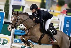 Sebrechts Max, BEL, Kilmullen Olympic Cruise<br /> FEI Ponies Jumping Trophy<br /> Vlaanderens Kerstjumping Memorial Eric Wauters<br /> © Dirk Caremans<br /> 27/12/2016