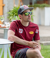 22.05.2017, Kalterer See, Kaltern, ITA, OESV, Nordische Kombinierer, Trainingskurs Kaltern, im Bild Philipp Orter // during a Trainingscamp of Austrian Nordic Combined Team at the Kalterer Lake, Kaltern, Italy on 2017/05/22. EXPA Pictures © 2017, PhotoCredit: EXPA/ JFK