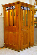 Northcentral Pennsylvania, phone booth, Bradford County Courthouse, Towanda, PA