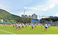 30 May 2013; British & Irish Lions during squad training ahead of their game against Barbarian FC on Saturday. British & Irish Lions Tour 2013, Squad Training, Aberdeen Sports Ground, Aberdeen, Hong Kong, China. Picture credit: Stephen McCarthy / SPORTSFILE