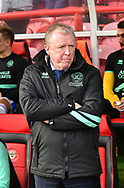 Queens Park Rangers Manager Steve McClaren *** during the EFL Sky Bet Championship match between Brentford and Queens Park Rangers at Griffin Park, London, England on 2 March 2019.
