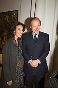 SIMON DE PURY; Princess Cristina Pignatelli; , Christies in Association with de Pury host a private view of 'A visual Odyssey' Selections from the Lambert Art Collection.  Ely House, Dover St. London.  3 October 2015.