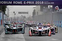Heidfeld Mahindra<br /> Roma 14- 04-2018 Eur<br /> Roma E  Prix 2018 / Formula E Championship<br /> Foto Antonietta Baldassarre Insidefoto