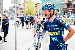 May 20, 2018 - Lillehammer, NORWAY - 180520 Carl Fredrik Hagen after the last stage of the Tour of Norway on May 20, 2018 in Lillehammer..Photo: Jon Olav Nesvold / BILDBYRÃ…N / kod JE / 160254 (Credit Image: © Jon Olav Nesvold/Bildbyran via ZUMA Press)
