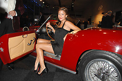 REBECCA LOOS at a preview of a forthcoming sale of cars from the Bernie Ecclestone Car Collection held at Battersea Evolution, Battersea Park, London SW11 on 30th October 2007.<br />