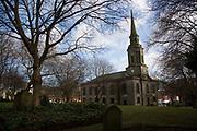 St. Pauls Square and church in Birmingham, England, United Kingdom.
