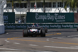 March 11, 2018 - St. Petersburg, Florida, United States of America - March 11, 2018 - St. Petersburg, Florida, USA: Josef Newgarden (1) battles for position during the Firestone Grand Prix of St. Petersburg at Streets of St. Petersburg in St. Petersburg, Florida. (Credit Image: © Justin R. Noe Asp Inc/ASP via ZUMA Wire)