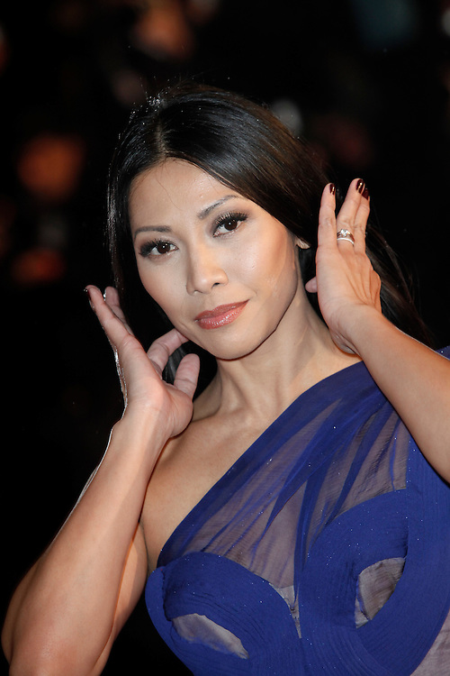 Anggun arrives for the NRJ Music Awards 2012 at Palais des Festivals on January 28, 2012 in Cannes.Anggun arrive pour la NRJ Music Awards 2012 au Palais des Festivals le Janvier 28 2012 à Cannes.
