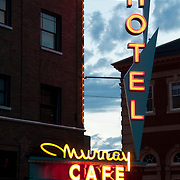 The Murray Hotel in Livingston, Montana.
