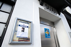 © under license to London News Pictures.  21/03/2011. SUJU Nightclub in Swindon, Wilts, where Sian O'Callaghan, a 22 year-old PR was last seen before she mysteriously vanished after a night out. A missing poster can be seen on the club notice board. Photo credit should read: LNP