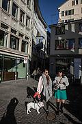 Switzerland, Zurich: walking in the center