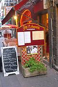 Pizzeria Gigi l'Amoroso. Agde town. Languedoc. France. Europe.