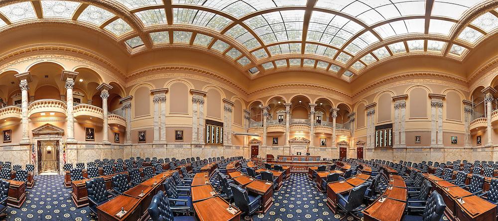 Maryland State House,Maryland House of Delegates chamber