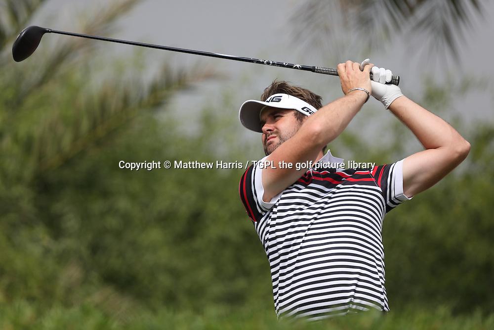 Matthew BALDWIN (ENG) during fourth round HSBC Abu Dhabi Championship 2014,Abu Dhabi Golf Club,Abu Dhabi,UAE.