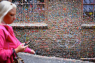 2011 August 30 - Gum wall at Pike Market in Seattle, WA, USA. Copyright Richard Walker