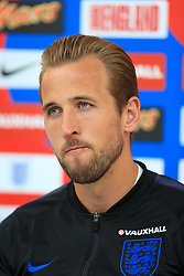 England's Harry Kane speaks during the media day at St George's Park, Burton. PRESS ASSOCIATION Photo. Picture date: Tuesday June 5, 2018. See PA story SOCCER England. Photo credit should read: Mike Egerton/PA Wire. RESTRICTIONS: Use subject to FA restrictions. Editorial use only. Commercial use only with prior written consent of the FA. No editing except cropping.