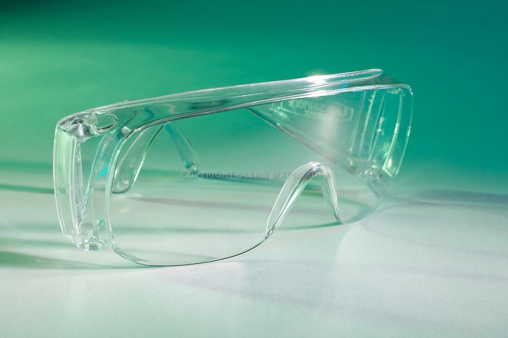 Safety glasses.