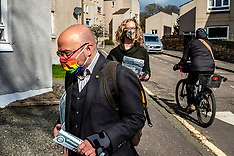 Scottish Greens out on the streets, Edinburgh, 24 March 2021