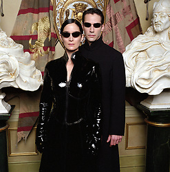 THE MATRIX RELOADED (2003) - KEANU REEVES - CARRIE-ANNE MOSS. Credit: WARNER BROS. PICTURES / Album