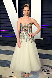 Amanda Seyfried attending the Vanity Fair Oscar Party held at the Wallis Annenberg Center for the Performing Arts in Beverly Hills, Los Angeles, California, USA.