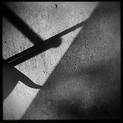 Fine art monochrome abstract from the shadows and light series by ETS