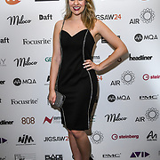 Larissa Eddie attend The Music Producers Guild Awards at Grosvenor House, Park Lane, on 27th February 2020, London, UK.