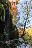 Varovitets falls near Etropole Monastery