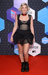 Anne-Marie attending the MTV Europe Music Awards 2016 at the Rotterdam Ahoy Arena, Rotterdam, the Netherlands. Photo credit should read: Doug Peters/EMPICS Entertainment