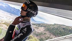 04.01.2014, Bergisel Schanze, Innsbruck, AUT, FIS Ski Sprung Weltcup, 62. Vierschanzentournee, Probesprung, im Bild Gregor Deschwanden (SUI) // Gregor Deschwanden (SUI) during Trial Jump of 62nd Four Hills Tournament of FIS Ski Jumping World Cup at the Bergisel Schanze, Innsbruck, Austria on 2014/01/04. EXPA Pictures © 2014, PhotoCredit: EXPA/ JFK