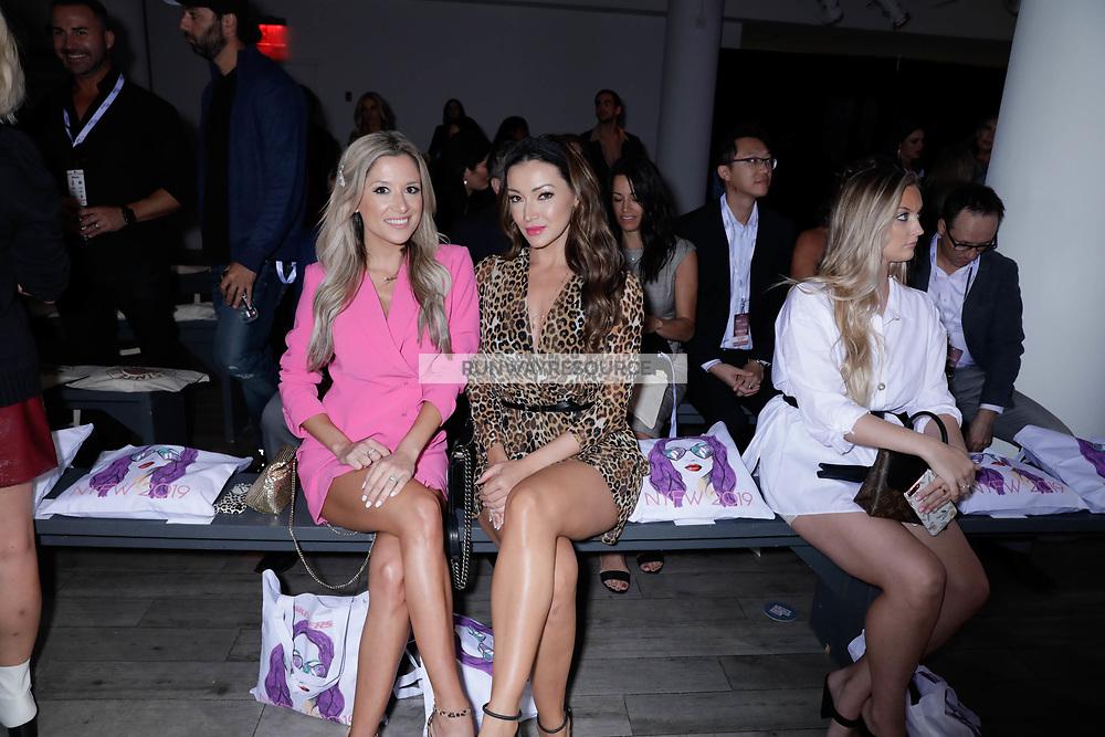 Natassia Fowler and Jennifer Desillis attend Klarna STYLE360 NYFW Hosts Kittenish by Jessie James Decker Runway Show