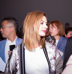 September 12, 2018 - New York, New York, United States - Ann Hathaway attends Calvin Klein show during New York Fashion Week on September 11, 2018 in New York City. (Credit Image: © Oleg Chebotarev/NurPhoto/ZUMA Press)