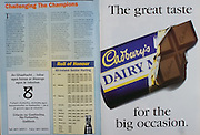 All Ireland Senior Hurling Championship - Final, .03.09.1995, 09.03.1995, 3rd September 1995, .03091995AISHCF, .Senior Clare v Offaly,.Minor Kilkenny v Cork,.Clare 1-13, Offaly 2-8, ..Cadburys,