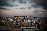 Shejaiya, one of the areas most affected by the destruction
