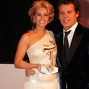 NLD/Amsterdam/20051128 - Uitreiking Beau Monde Awards 2005, Ellemiek Vermolen wint de Beau Monde Hair Award 2005