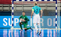 Damir Puskar of Slovenia during futsal quarterfinal match between National teams of Slovenia and Russia at Day 7 of UEFA Futsal EURO 2018, on February 5, 2018 in Arena Stozice, Ljubljana, Slovenia. Photo by Vid Ponikvar / Sportida