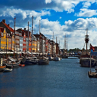 Copenhagen Nyhavn Canal Denmark