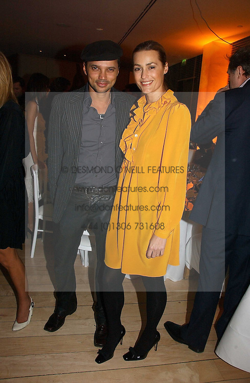 YASMIN LE BON and GERRY DE VEAUX at a Burns Night dinner in aid of CLIC Sargent and Children's Hospice Association Scotland held at St.Martin's Lane Hotel, St.Martin's Lane, London on 25th January 2007.<br /><br />NON EXCLUSIVE - WORLD RIGHTS