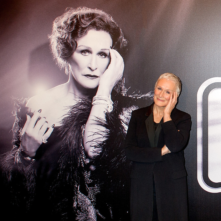 """Glenn Close meets the press as she prepares for the Broadway return of """"Sunset Boulevard"""""""