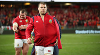 Rugby Union - 2017 British & Irish Lions Tour of New Zealand - Third Test: New Zealand vs. British & Irish Lions<br /> <br /> Sean O'Brien of The British and Irish Lions after drawing the series at Eden Park.<br /> <br /> COLORSPORT/LYNNE CAMERON